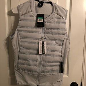 Nike light grey jacket/vest